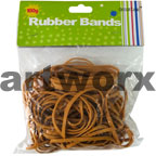 100gm Brown Rubber Bands