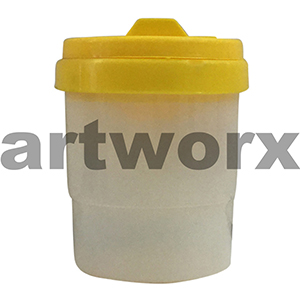 Yellow Safety Paint Pot