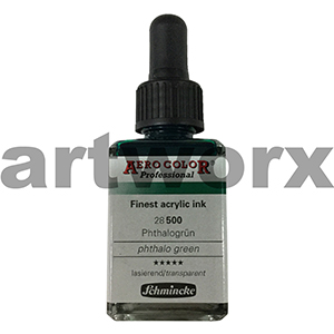 Phthalo Green 500 Schmincke Ink Color