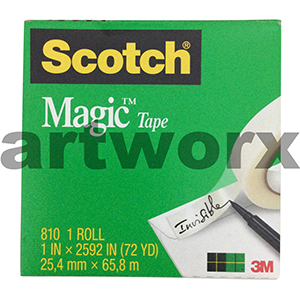 25.4mmx65.8m Scotch Magic Tape Roll