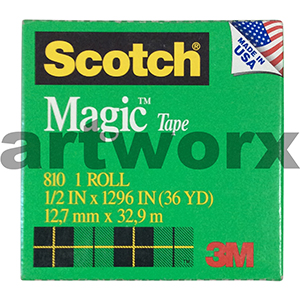 12.7mm x 32.9m Scotch Magic Tape Roll