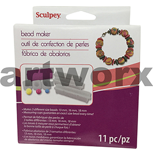 Sculpey Bead Maker Makes 3 Different Size Beads