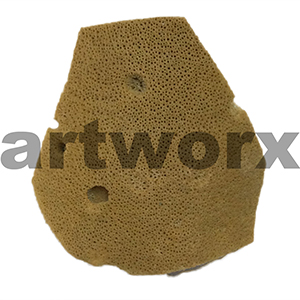 "Natural Sponge Elephant Ear 3.5"" Art Sponges"