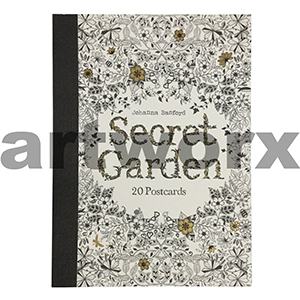 Secret Garden: 20 Postcards by Johanna Basford