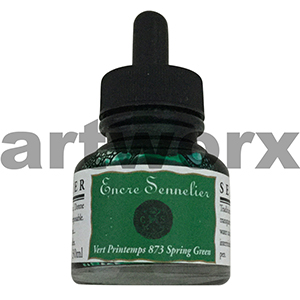 Spring Green 873 30ml Encre Shellac Sennelier Ink