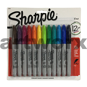 Sharpie Set of 12 Coloured