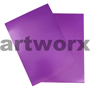 Purple A4 Showcard 280gsm