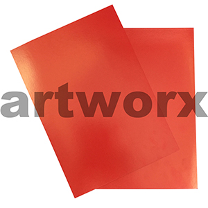 Red 100 sheets Show Card 280gsm