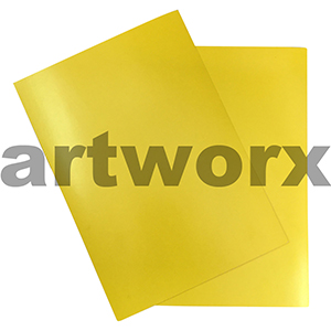Yellow A4 Showcard 280gsm