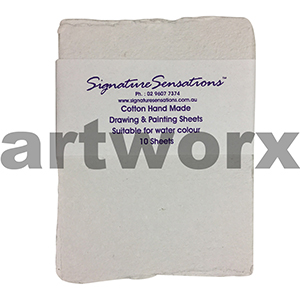 150x210mm 10 sheets Cotton Signature Sensations Watercolour Paper