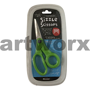 Sizzle Green Left Handed 155mm Art Scissors