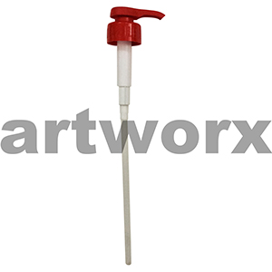 Paint Dispenser Pump Red