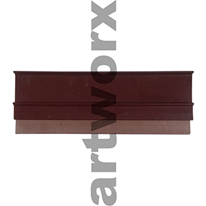 "9"" Burgundy Silk Screen Squeegee Speedball"
