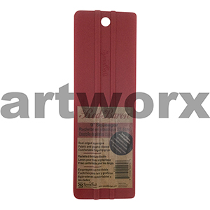 "9"" Red Silk Screen Squeegee Speedball"