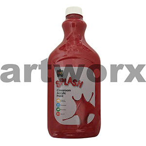 Poppy (Magenta) 2 Litre Splash Kids Acrylic Paint Bottle
