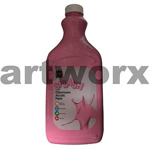 Cup Cake (Pink) 2 Litre Splash Kids Acrylic Paint Bottle