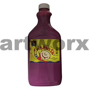 Violet Crunch (Lilac) 2 Litre Splash Kids Acrylic Paint Bottle