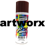 Gloss Indian Red Spray Paint Export