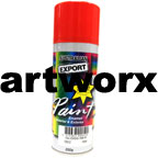 Gloss Red Spray Paint Export