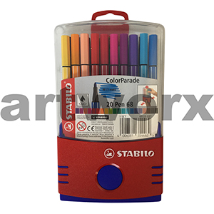 20pc 1mm Parade 68 Stabilo Color Fineliners