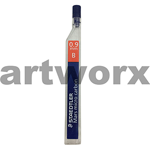 12pc 0.9mm B Mars Micro Carbon Mechanical Pencil Leads Staedtler