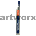 12pc 0.9mm HB Mars Micro Carbon Mechanical Pencil Leads Staedtler