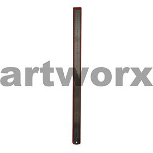 Stainless Steel Ruler Dual 600mm 60cm XP
