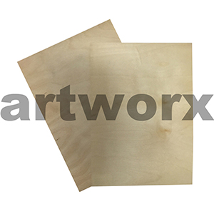 A4 White Birch Sticky Barc Paper