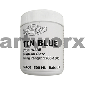 Tin Blue 500ml Stonewear Glaze Northcote