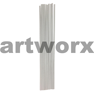 4mm Square Section Styrene Strip