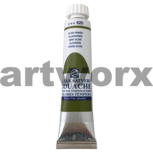 Olive Green 620 Talens Gouache Paint 20ml