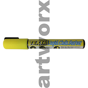 5.5mm Yellow Texta Liquid Chalk Marker