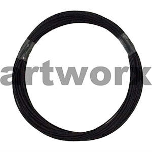 5m Tiger Tail Black Craft Wire