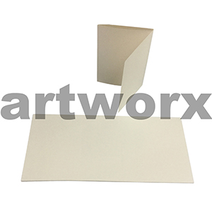 Cream 3 Fold Cards C6 Cards & Envelope 10pcs Upikit 5 Cards & 5 Envelopes