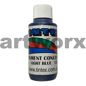 Light Blue 125ml Pigment Concentrate Tintex