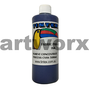 Process Cyan 500ml Pigment Concentrate Tintex
