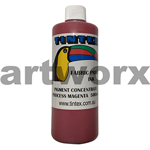 Process Magenta 500ml Pigment Concentrate Tintext