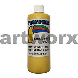 Process Yellow 500ml Pigment Concentrate Tintext