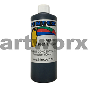 Turquiose 500ml Pigment Concentrate Tintext