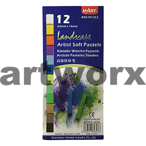 12pc Landscape U Art Pastels