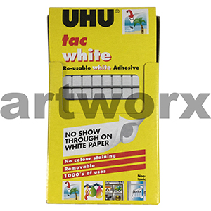 80 White Tac Re Usable Adhesive UHU