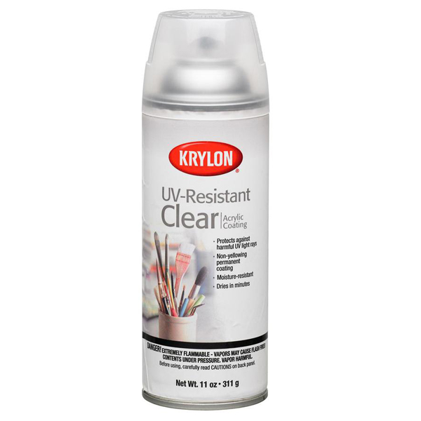 UV Resistant Clear Gloss Acrylic Coating 311g Krylon Spray