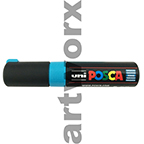 Turquoise Posca Waterbased Markers 8k