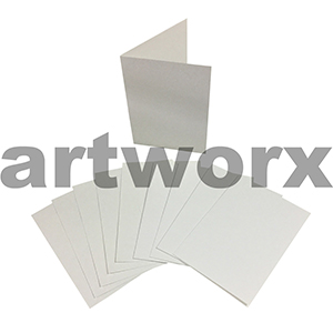 White Blank C6 Cards & Envelope 10pcs Upikit 5 Cards & 5 Envelopes