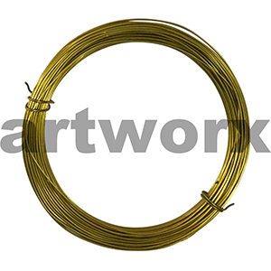 15m 24 Gauge Soft Gold Value Craft Wire