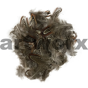 Value Craft - Feather Pack - 1.5gm - Neck Plumage Almond-Nat