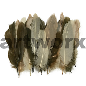 Value Craft - Feather Pack - 6gm - Goose Satin Natural Mix