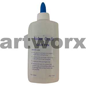 Clear Glue Pen 150ml Value Craft