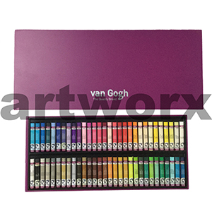 60pc Van Gogh Royal Talens Oil Pastel Box