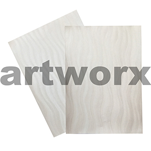 Vibe Wave Shinning White 110gsm Metallic Paper